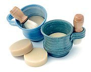 photo of heavensoap Shaving Mug, Soap & Brush Gift Set